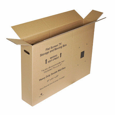 "Flat Screen TV Box Up to 37"" - The Box Guys - Packing Supplies Toronto, Moving Services Toronto, Boxes, Bubble Wrap, Tape, Paper."