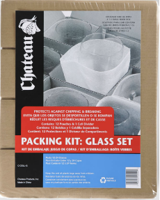 Packing Kit - Glass Set - The Box Guys - Packing Supplies Toronto, Moving Services Toronto, Boxes, Bubble Wrap, Tape, Paper.
