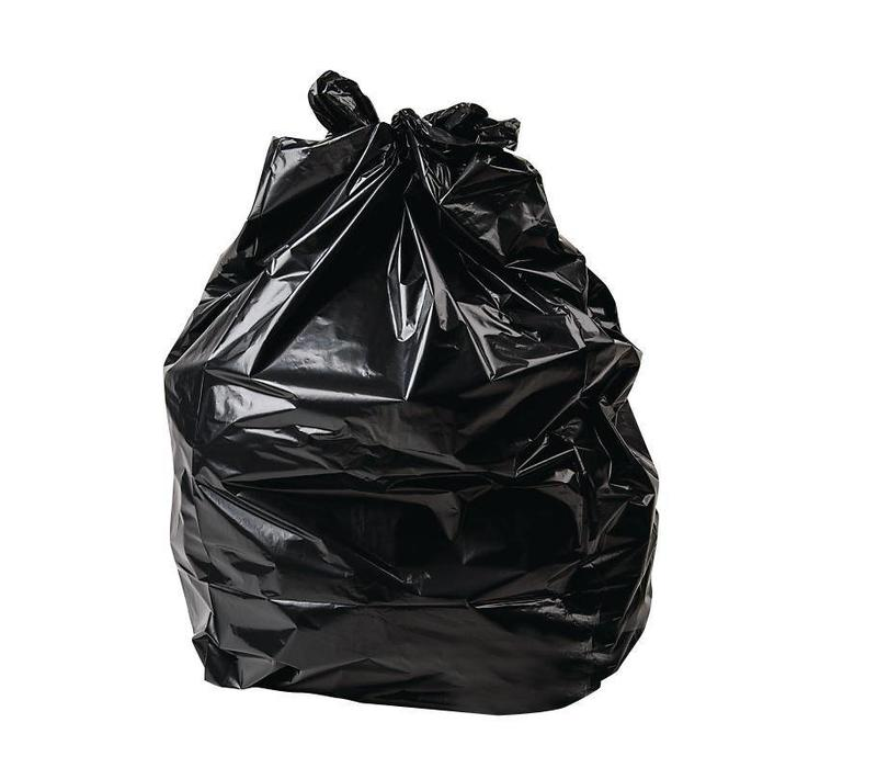 X-Large/X-Tra strong Black Garbage Bag, 35 x 47 - 100/PCS/CASE
