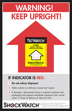 TV Tiltwatch Indicator
