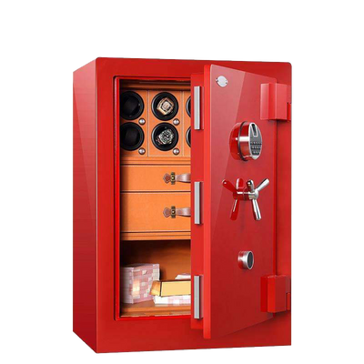 Chrono Safe 8 watch winder cabinet with automatic watch winders