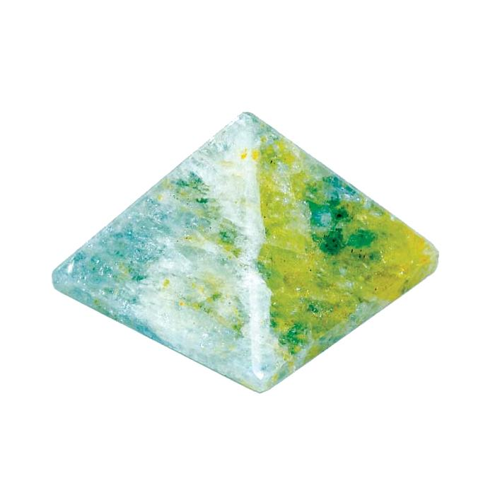 Aquamarine Pyramid, 25-30mm - TARAH CO.