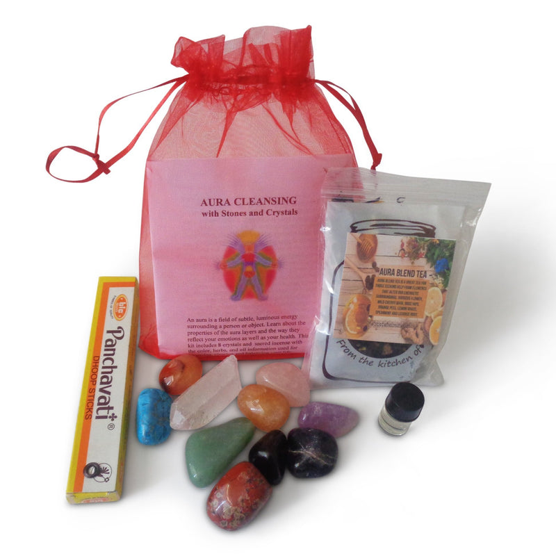 Aura Crystal Cleanse Kit - TARAH CO.