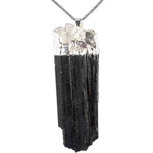 Black Tourmaline Protection Pendant - TARAH CO.