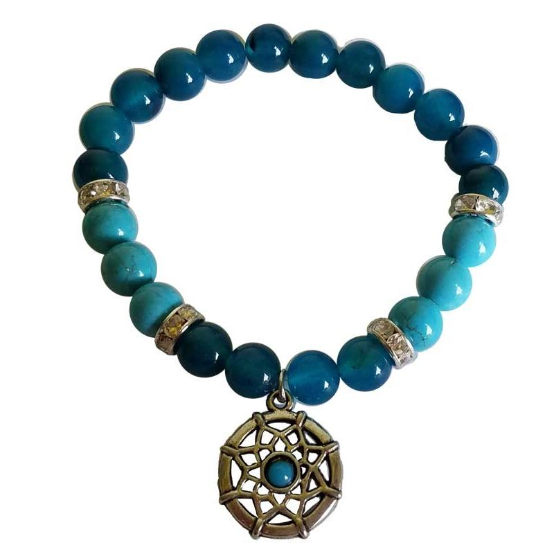 Blue Dream Catcher Bracelet - Tarah Co.