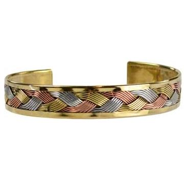 Brass Weave Bracelet - Tarah Co.