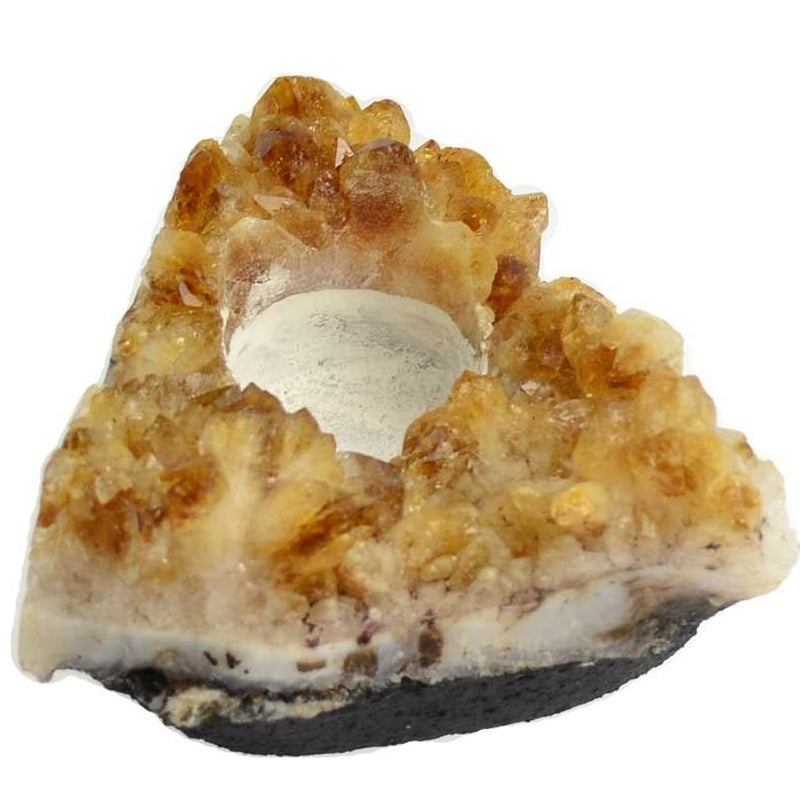 Citrine Tealight Candle Holder - Tarah Co.