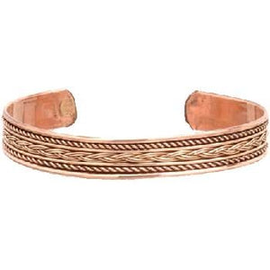 Copper Braided Bracelet - Tarah Co.