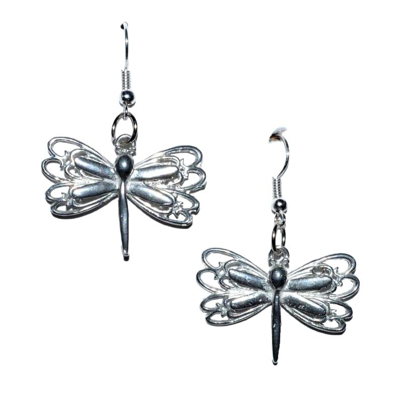Dragonfly Earrings - Tarah Co.