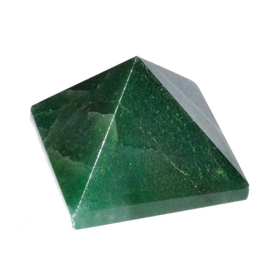 Emerald Fuchsite Pyramid, 25-30mm - TARAH CO.