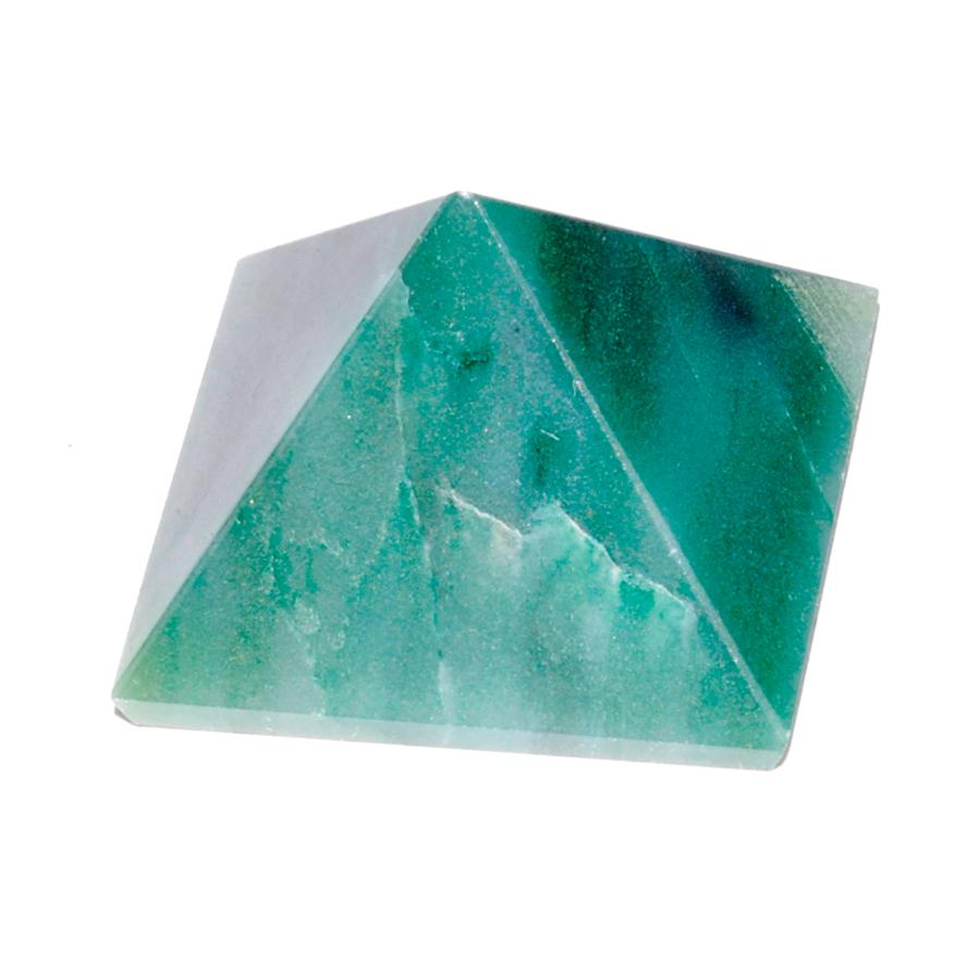 Emerald Fuchsite Pyramid, 30-40mm - TARAH CO.