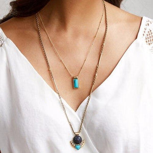 Glowing Stone Pendant Necklace - Tarah Co.