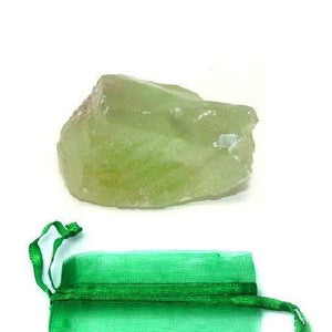 Green Calcite Rough Stone - Tarah Co.