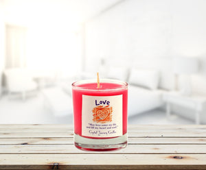 LOVE Soy Votive Candle - Tarah Co.
