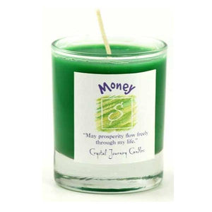 Money Soy Votive Candle - Tarah Co.