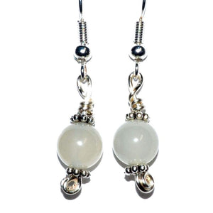 Moonstone Dangle Earrings - Tarah Co.