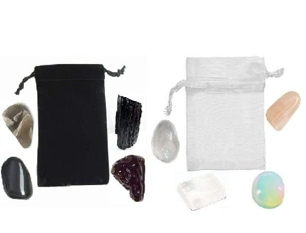 New and Full Moon Crystal Set - Tarah Co.