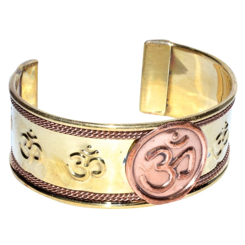 Om Copper Bracelet - Tarah Co.