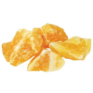 Orange Calcite Untumbled Stones | 1lb - Tarah Co.
