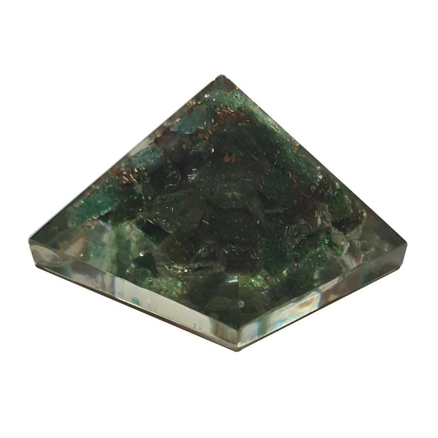 Orgone Green Aventurine Pyramid, 25-30mm - TARAH CO.