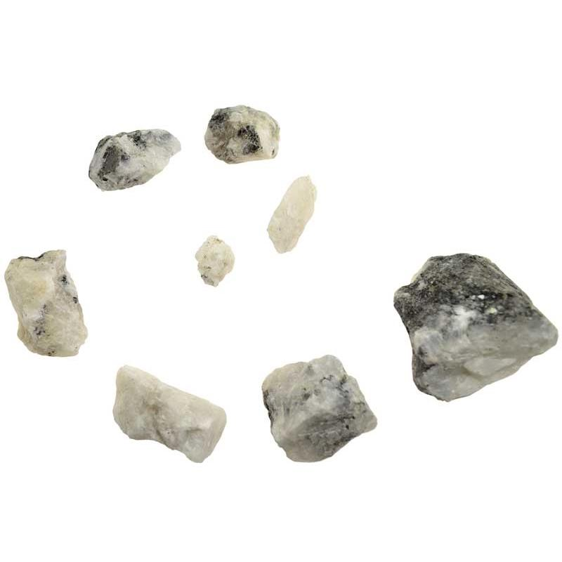 Rainbow Moonstone Untumbled Stones | 1lb - Tarah Co.