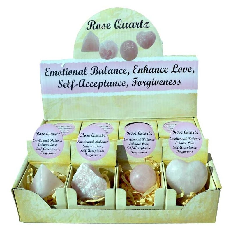 Rose Quartz Gift Box (Set of 12) - Tarah Co.
