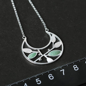 Tinted Glamour Sterling Silver Necklace - Tarah Co.