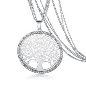 Tree Of Life Pendant Necklace - Tarah Co.
