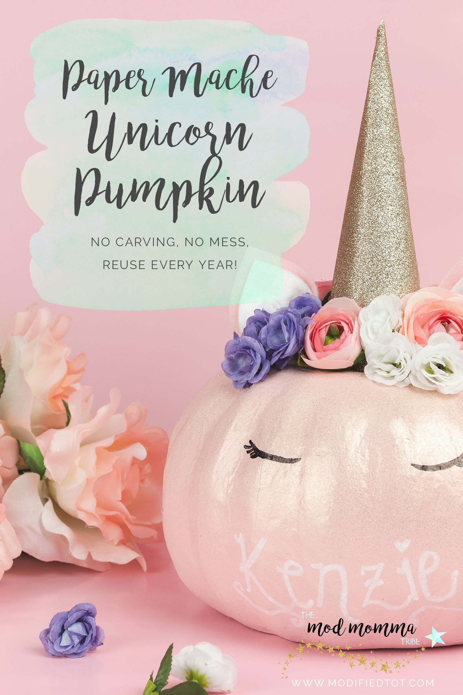 Reusable Unicorn Pumpkin