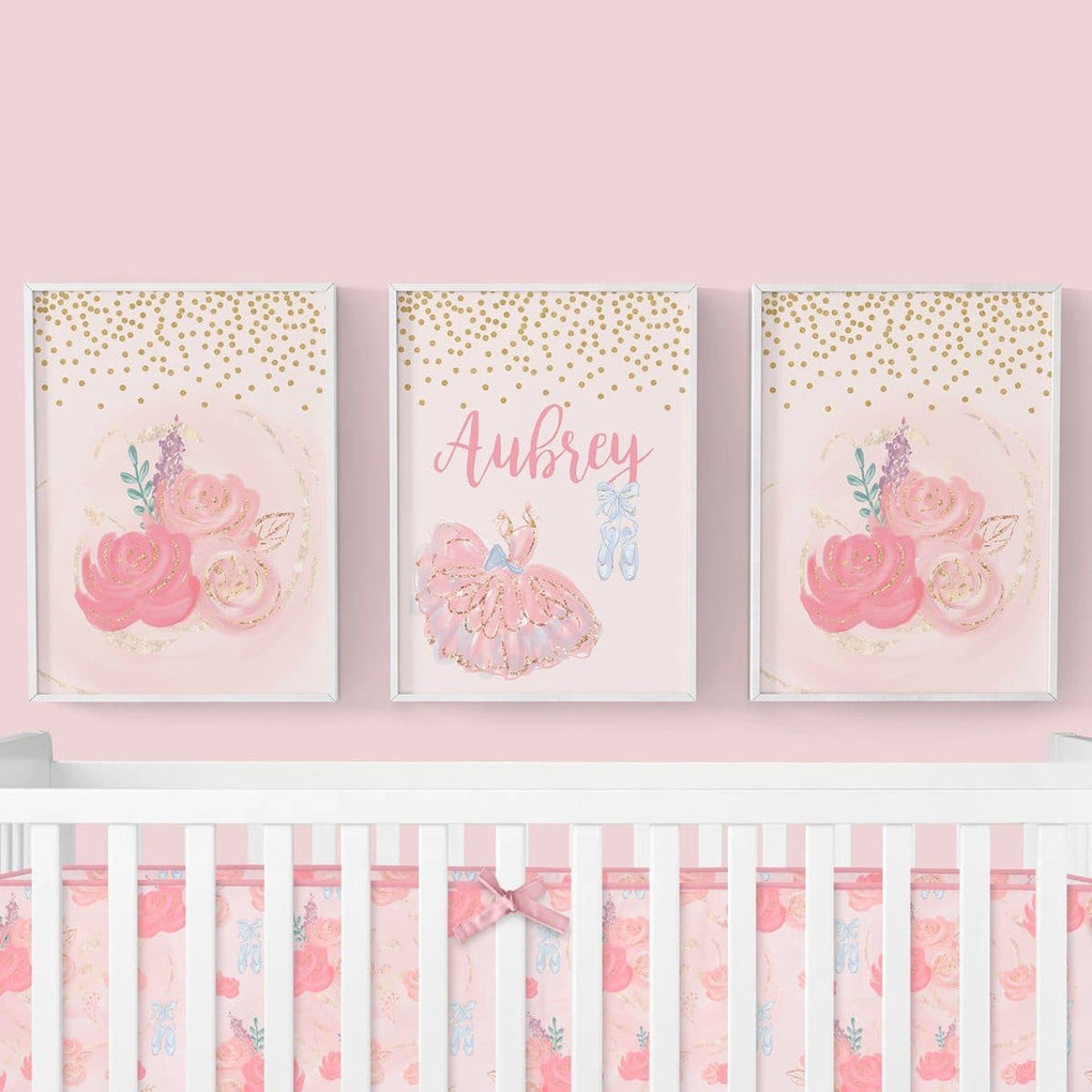 Ballet Blooms Wall Art Trio (Download) download Modified Tot