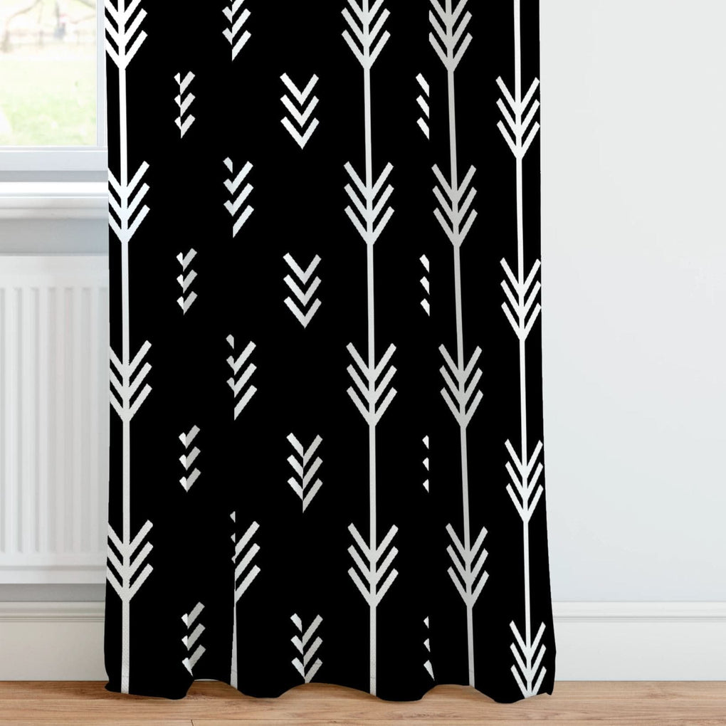 Black Arrow Curtain Panel Curtain Panels Modified Tot