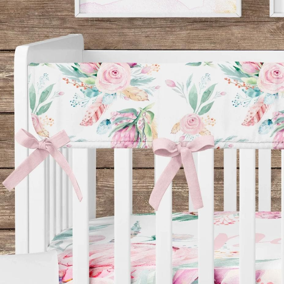 Boho Babe Floral Rail Guards Rail Guards Modified Tot