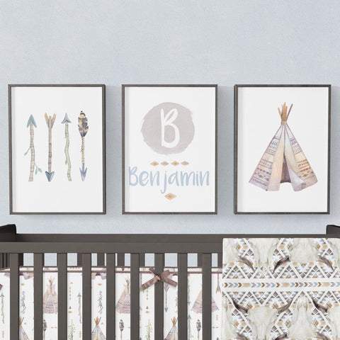 Boho Boy Art Print Trio (Download) download Modified Tot
