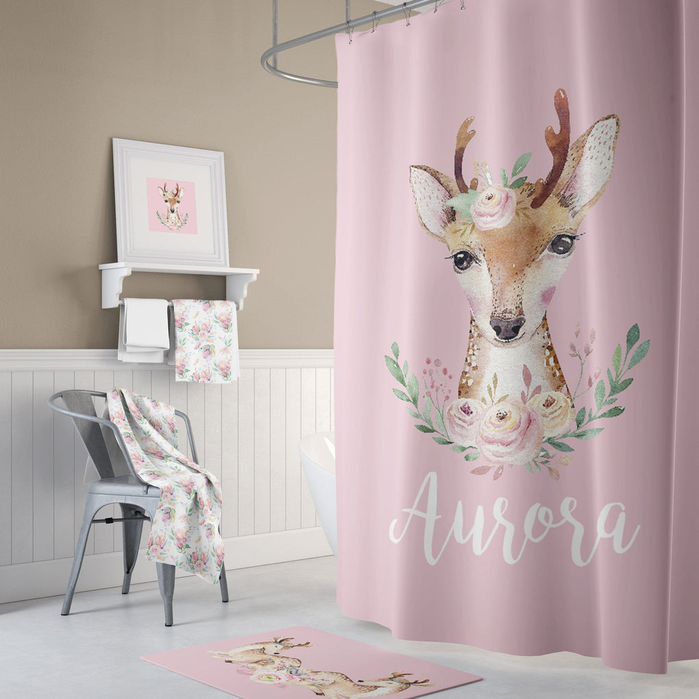 Boho Fawn Bathroom Collection Bathroom Collection Modified Tot
