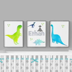 Bright Dinosaurs Art Print Trio (Download) download Modified Tot