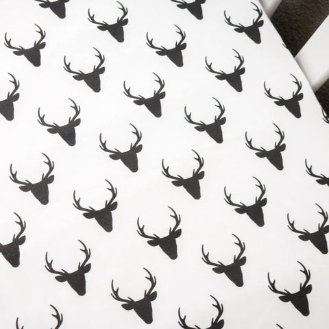 Buck Deer Crib Sheet Crib Sheet Modified Tot