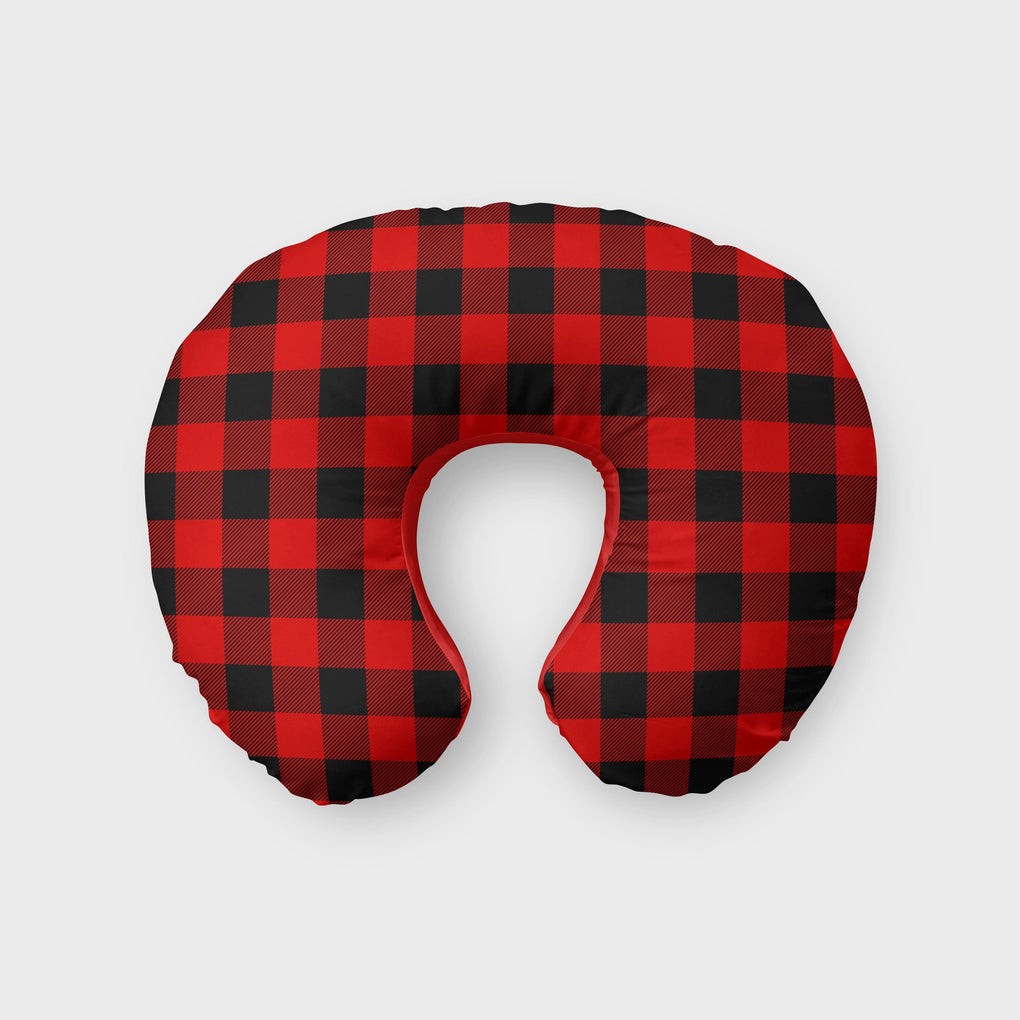Buffalo Plaid Boppy Cover Boppy Covers Modified Tot