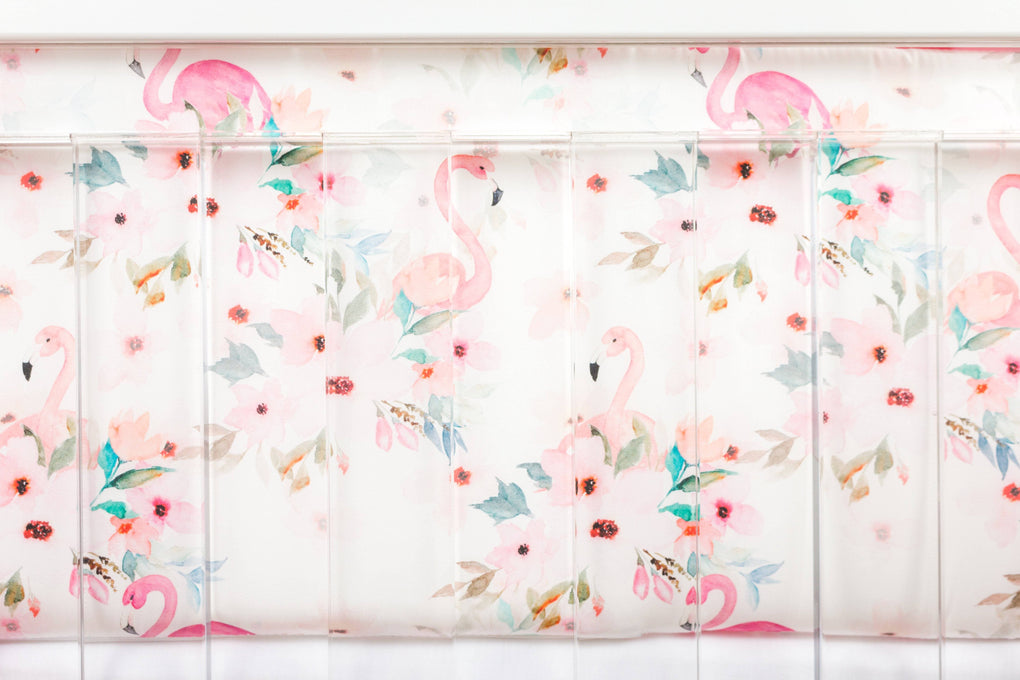 *Create Your Own Package* Flamingo Floral Crib Bedding Crib Bedding Modified Tot