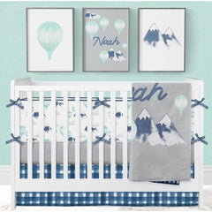 *Create Your Own Package* Mountain Explorer Crib Bedding Crib Bedding Modified Tot