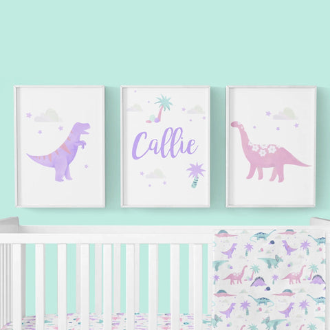Dino Grrrl Wall Art Trio (Download) download Modified Tot