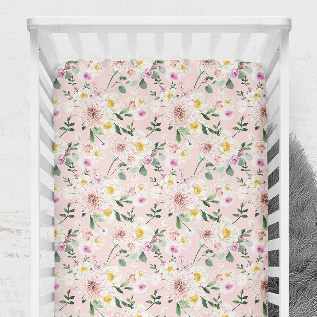 Farm Floral Nursery Set Crib Bedding Modified Tot
