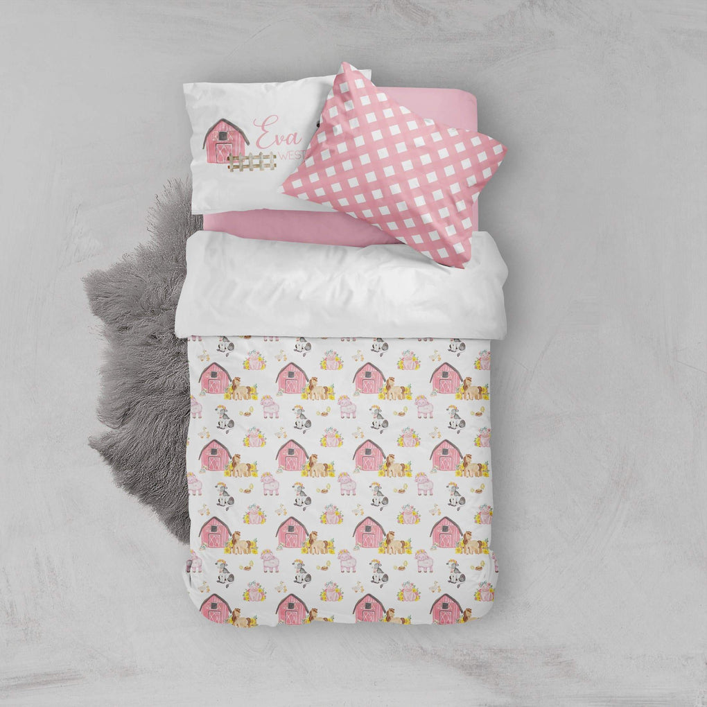 Farm Girl Big Kid Bedding Set Big Kid Bedding Modified Tot