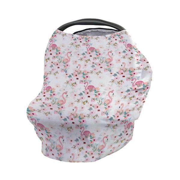 Flamingo Floral Car Seat Cover Car Seat Cover Modified Tot