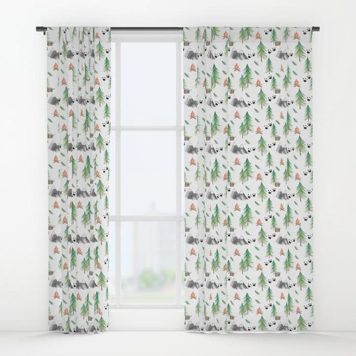Forest Adventure Curtain Panel Curtain Panels Modified Tot