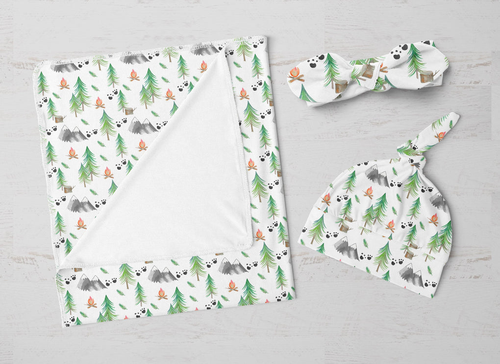 Forest Adventure Swaddle Blanket Set Swaddle Blanket Modified Tot