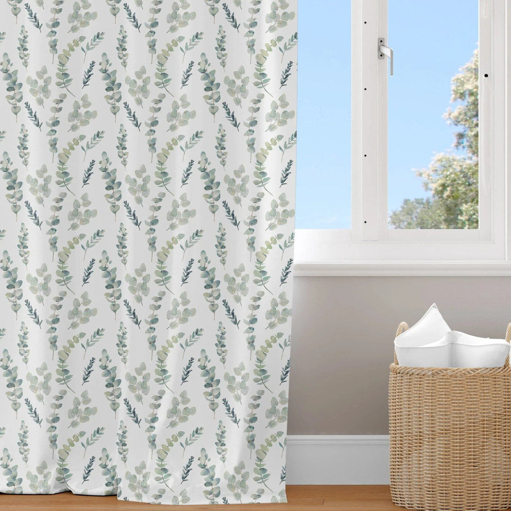 Going Green Leafy Curtain Panel Curtain Panels Modified Tot