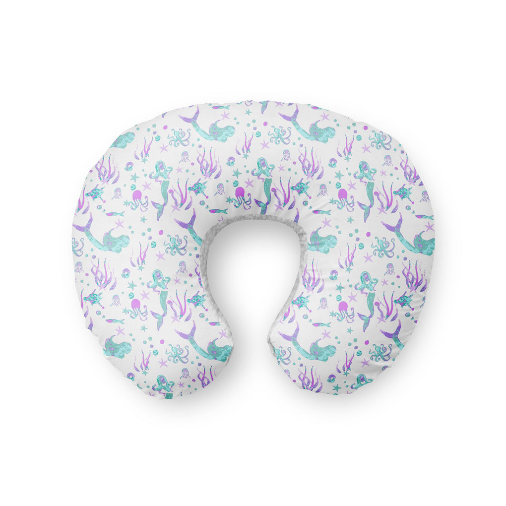 Jewel Mermaid Boppy Cover Boppy Covers Modified Tot