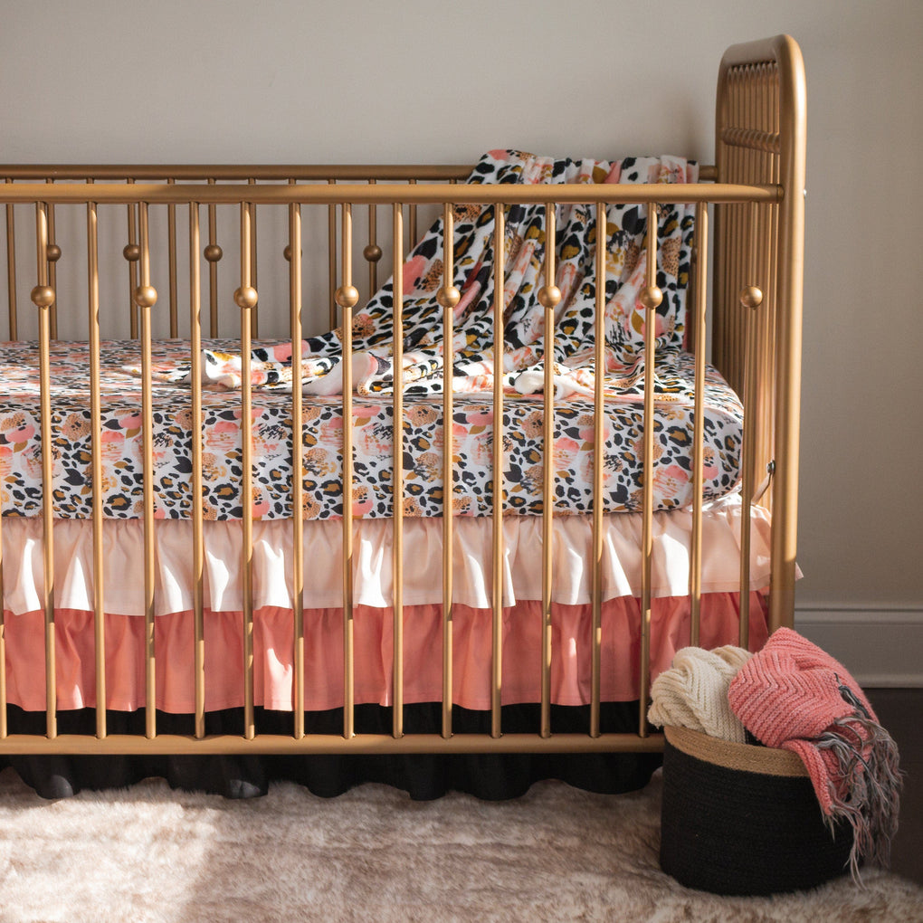 Leopard Love Crib Bedding (2 or 3 Pcs Set) Crib Bedding Modified Tot