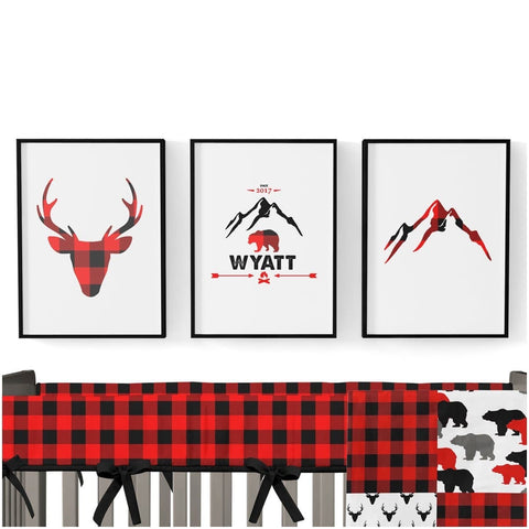 Lil Lumberjack Art Print Trio (Download) download Modified Tot
