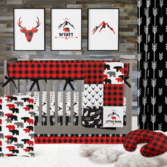 Lil Lumberjack Personalized Art Print (Download) download Modified Tot